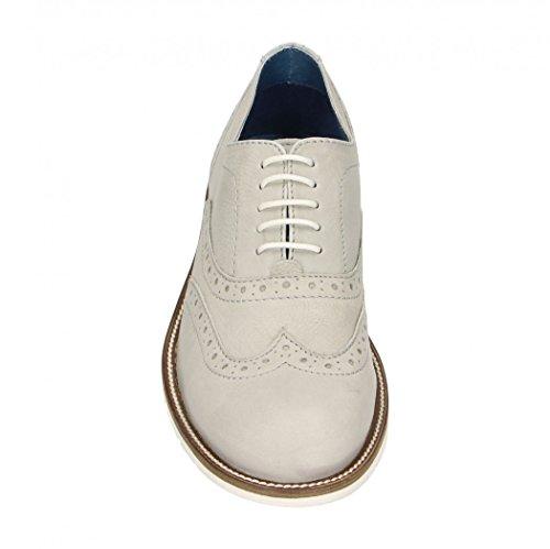 Fitters Chaussures Caffè Moda - Chaussure Homme - Chaussure Basse En Cuir - Schuhgra ¶øn 41 Fino 46 Grigio