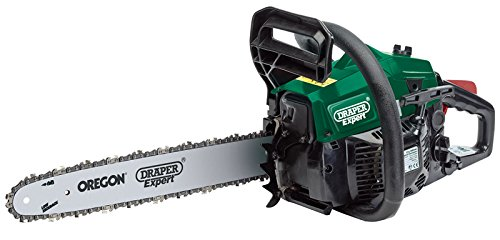 Draper Tools Limited 32727 37 cc 400 mm Petrol Chainsaw with Oregon Chain and Bar
