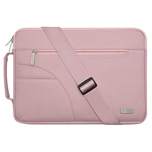 MOSISO Laptoptasche Kompatibel 13-13,3 Zoll MacBook Pro, MacBook Air, Notebook Computer, Laptoptasche Sleeve Hülle Polyester Umhängetasche...