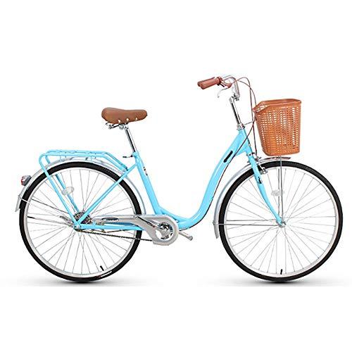AI CHEN Fahrrad City Car Männer und Frauen Allgemeine Pendler Auto Fahrrad weiblich 20 Zoll Single Speed