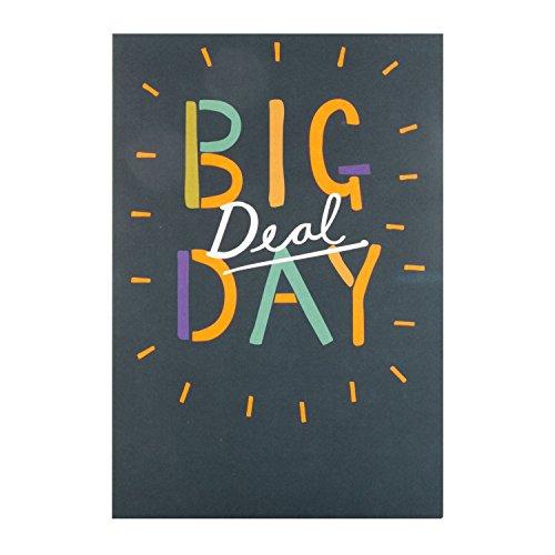 Hallmark-Biglietto di compleanno di 25487031' Big Deal Day'-Medium