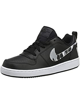 Nike Court Borough Lo(GS), Zapatillas de Gimnasia para Niños