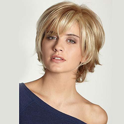 Echtes menschliches Haar Perücke Kurzes Pixie Cut Menschenhaar Hitzebeständiges gerades volles Menschenhaar Natürliches Haar für den täglichen Gebrauch