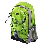 Formulaone Leichte Wasserdichte Nylon Running Outdoor Reiserucksack für Schule Freizeit Mountain Rucksack 15L Packs Weltweiter Apple Green