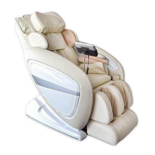 Home Deluxe - Massagesessel - Dios - Beige - inkl. komplettem Zubehör