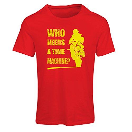 lepni.me Maglietta Donna Abbigliamento Moto (XX-Large Rosso