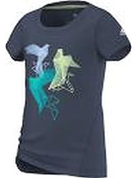 adidas Graphic tee – Camiseta para Azul Azul Talla 170 f4be1051855