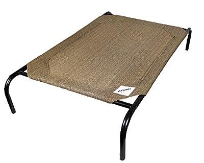 Coolaroo Elevated Pet Bed Medium Nutmeg