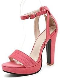 Sandalias Zapatos Amazon es Y Chenxue888 Chanclas Hebillas tnvOa6