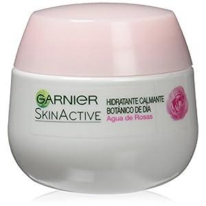 Garnier Skin Active Crema Calmante con Agua de Rosas, piel sensible, 50 ml
