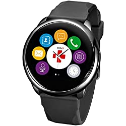 MyKronoz ZEROUND-BK-Reloj, color negro