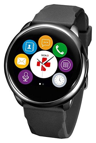 MYKRONOZ Smartwatch Fitnesstracker ZeRound, schwarz, KRZEROUND