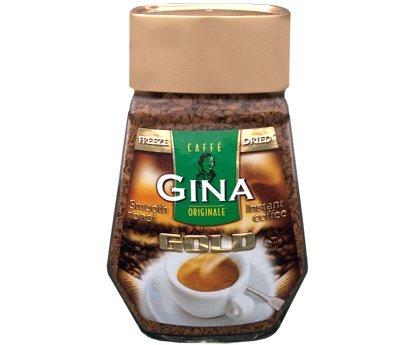 Kaffee Gina Gold Instant 200g (Natürliche Instant-kaffee)