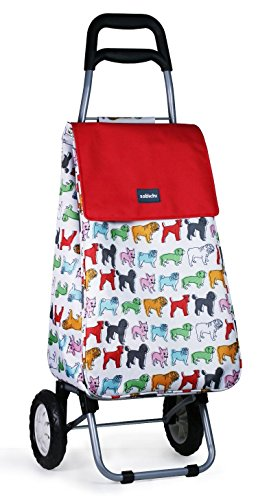 Sabichi Pug Shopping Trolley