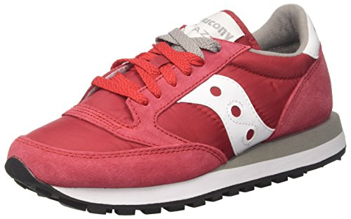 Saucony Jazz O, Scarpe da Running Unisex-Adulto, Multicolore (Red 311), 40.5 EU
