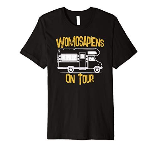 Wohnwagen Camping Mobil Tshirt I Abenteuer Urlaub Geschenk