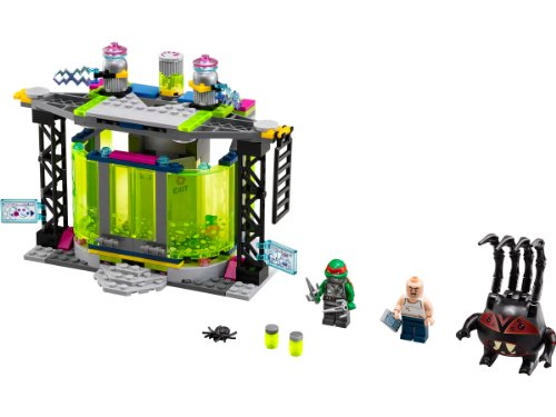 LEGO Tortugas Ninja - Cámara de mutación Fuera de Control, Juego de construcción (79119)