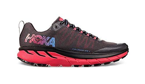Hoka One Zapatillas Para Correr EN Montaña de Material Sintético Para Mujer, Color Gris, Talla 38 EU