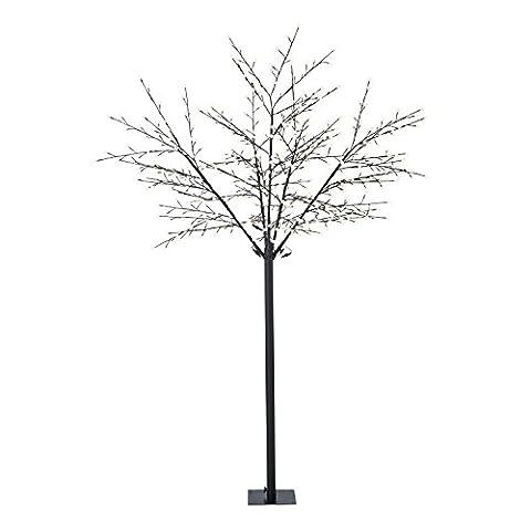Blumfeldt Shineberry WW 250 Weihnachtsdekoration Lichterbaum (Beeren-Design, 600 LEDs warmweiß, biegsame Äste, 10 m Zuleitung)