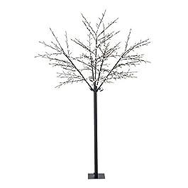 Blumfeldt Shineberry WW 250 albero luminoso decorativo lampada bacche (560 LED, forma variabile a piacere grazie ai rami pieghevoli) – bianco caldo