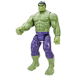 AVENGERS TITAN HERO SERIES Hulk with Assembler Gear