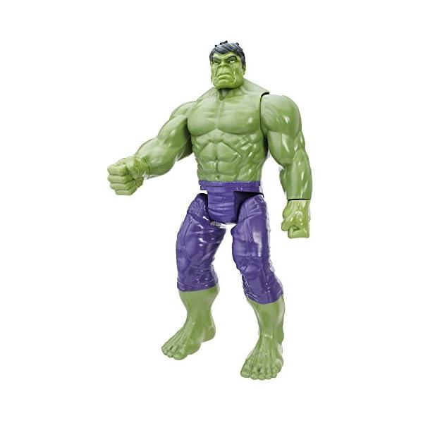 AVENGERS TITAN HERO SERIES Hulk with Assembler Gear