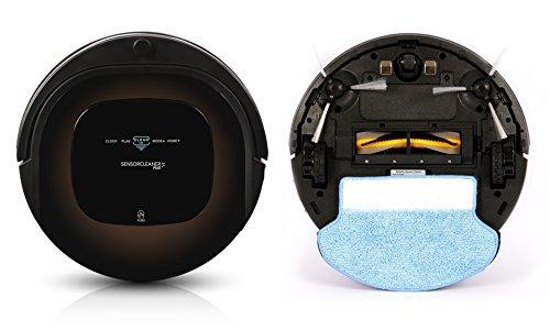 Robot nettoyeur et aspirateur Sensor Cleaner plus avec
