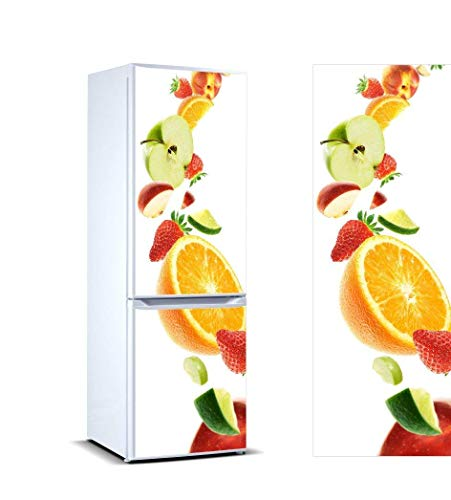 Oedim Pegatinas Vinilo Frigorífico Frutas | 200x70cm