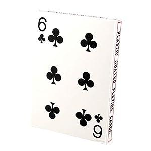 Toyvian Jumbo Carte da Gioco 4 Volte più Grandi Carte da Gioco Tavolo da Gioco Poker
