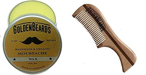 Cera bigote peine madera ecológica T- Obtén mejor
