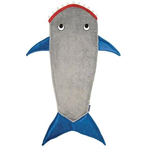 YOUJIA Suave Manta Colcha Cola de Sirena Tiburones Bolsa para Dormir Sofá Manta de Dormir Niños,