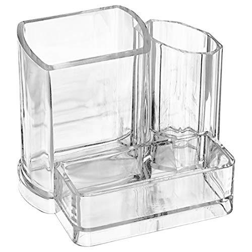 Transparente Kosmetik Etui Kulturbeutel Make up Taschen Cases Makeup Organizer Premium Glas Vintage Make up Pinsel Halter