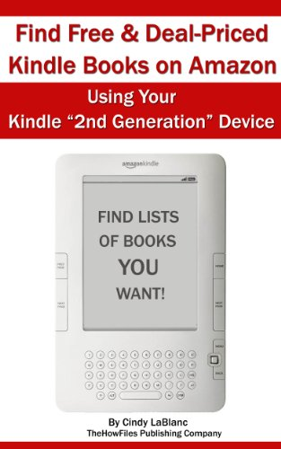 Find Free and Deal-Priced Kindle Books on Amazon Using Your Kindle ...