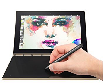 """Lenovo Yoga Book 10.1"""" 2-in-1 Tablet (Gold) - Intel Atom x5-Z8550 2.4GHz, 4GB, 64GB SSD, Android 6.0 (English/Canadian Keyboard)"""