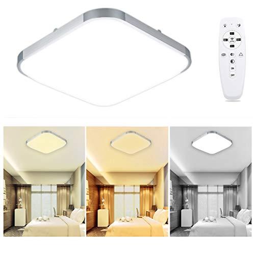 Lampwin LED Deckenleuchte Deckenlampe, Möbeleinbauleuchte Deckenlampe Leuchte für Schlafzimmer, Wohnzimmer, Esszimmer, Küche, Balkon