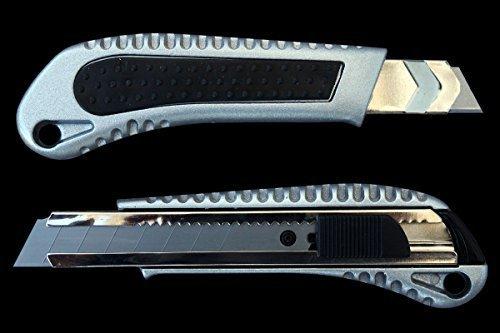 Premium in alluminio pressofuso Cutter lama 18mm professionale Cutter coltello tappeto coltello lame cutter lame