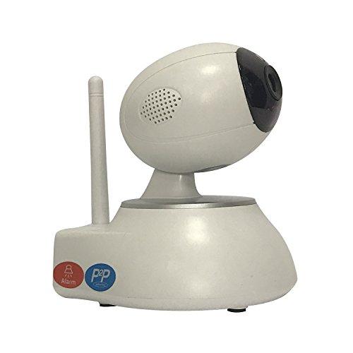 Outdoor Netzwerkkamera, 720P HD Wireless Wlan/Wifi IP Kamera mit Infrarot Day & Night, Zwei-Wege-Audio, PTZ Pan / Tilt, Videoaufzeichnung Überwachungskamera Für Home Security Baby Haustier Video Gehäuse Wireless Security Kameras-video