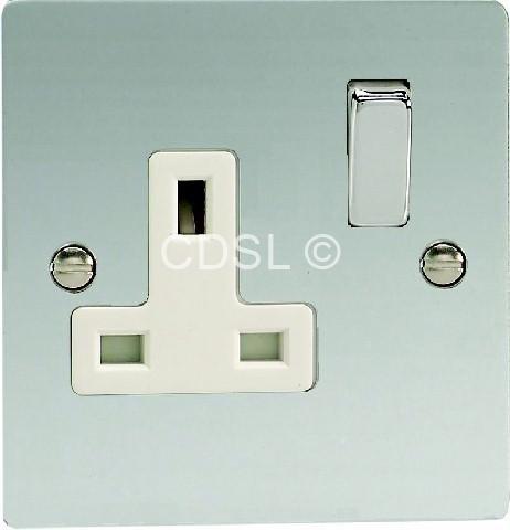 Preisvergleich Produktbild Wellco 1-Gang Doppelpoliger Schalter Socket