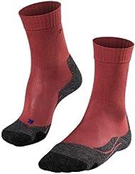 FALKE Tk2 Cool - Calcetines de Trekking para Mujer, Primavera/Verano, Calcetines, Mujer, Color Mixed Berry (8215), tamaño 37-38