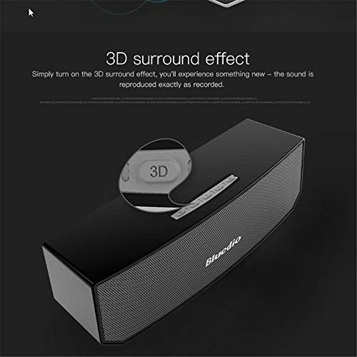 HJIJI Mini 4.1 Bluetooth Haut-Parleur Bluetooth 3D Stéréo Musique Surround Sound Box