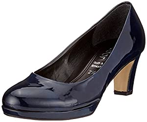 Gabor Shoes Fashion, Scarpe con Tacco Donna, Blu (Marine Natur), 39 EU