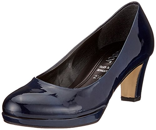 Gabor Shoes Damen Fashion Pumps, Blau (Marine (Natur)), 41 EU