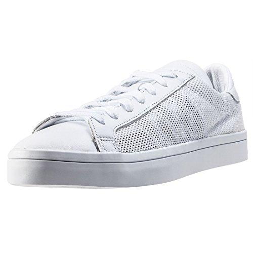 adidas Courtvantage S76659, Scarpe da Basket Uomo White White