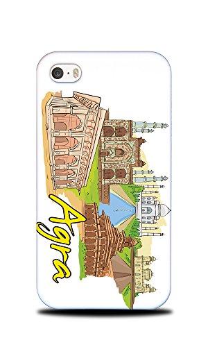 Price comparison product image Foxercases Design Agra Uttar Pradesh India Hard Back Case Cover For Apple iPhone 4 / 4S