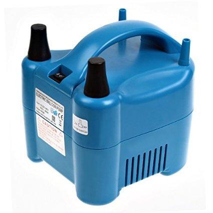 Amzdeal Inflador de globos electrico 680W para inflar globos hinchador electrico bomba para fiestas...