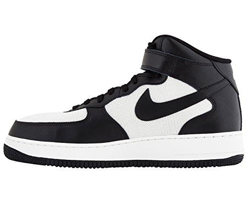 Nike Air Force 1 Mid 07 Sneaker Nero (noir / Noir / Blanc Sommet) Schwarz (noir / Noir / Blanc Sommet)