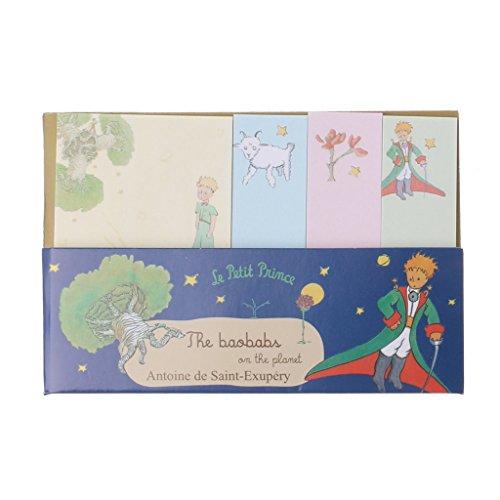 Lamdoo Blocchetto promemoria, foglietti adesivi, motivo Il piccolo principe, per scuola e PC, Carta, Random, A: 10.3x7cm
