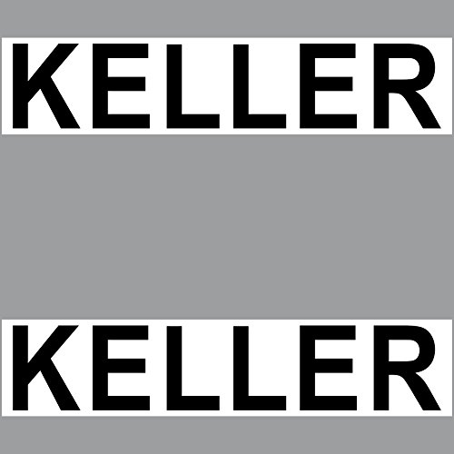2 Sticker Keller PVC Aufkleber 20cm Hinweis Schild für Tür Tor etc. in Haus Geschäft Arzt Praxis Kanzlei