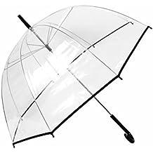 Parapluie plastique transparent - Cloche en plastique transparent jardin ...