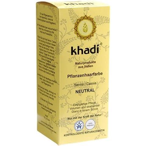 Khadi Bio Colore Capelli SENNA_CASSIA /Neutro - 100gr